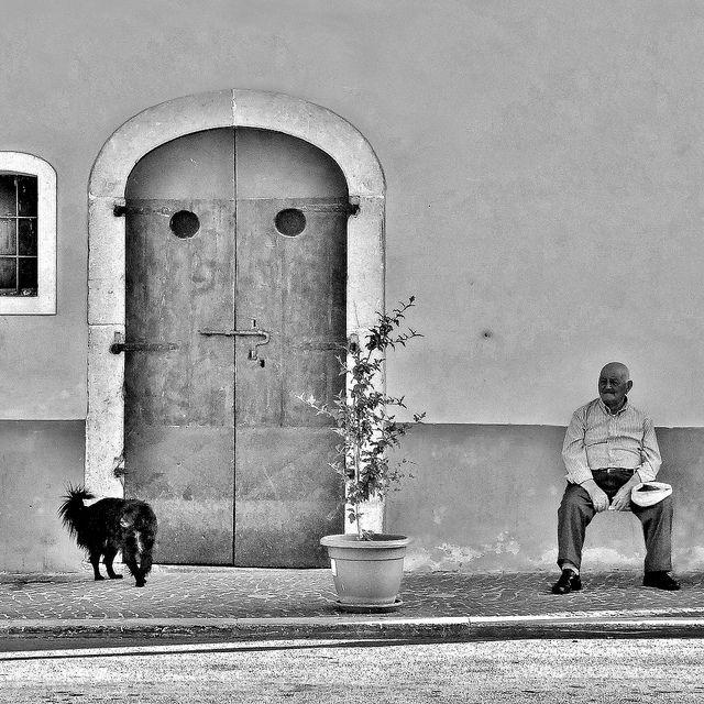 "Carpinone (Isernia), Molise, Italy ""Aspettando sera"" by archifra-francesco de vincenzi, via Flickr"