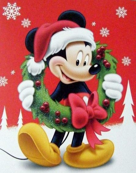 Happy Holidays from Mickey Mouse