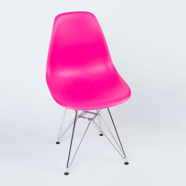Eiffel Slope Chair in Fuchsia | dotandbo.com