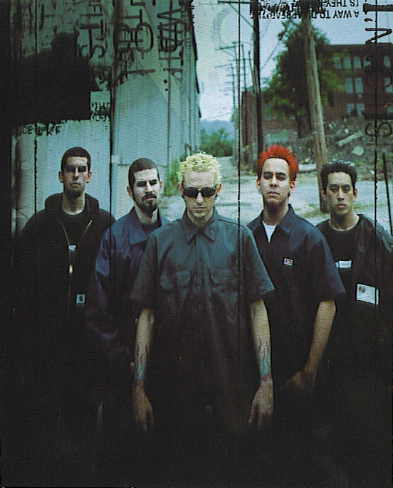 "Linkin Park, pre-Phoenix, back when Mike was the only ""ginger"" in the band. LOL"