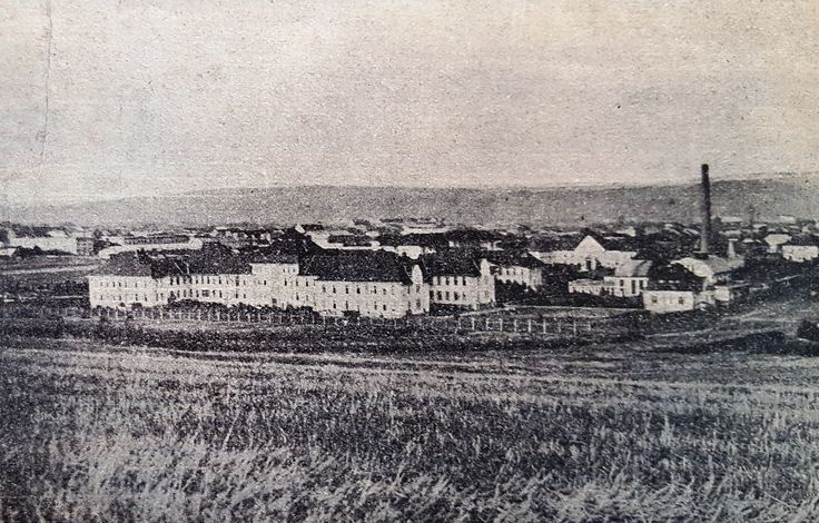 Kosice State Hospital in 1928. This state-run oval-shaped complex of 14 buildings constructed in the pavilion style had in 1927 830 beds, and employed 35 doctors and 88 nurses (50 nuns, 38 civilian). At this time, it was the only modern large-scale healthcare provider in the region of eastern Slovakia and Subcarpathian Ruthenia. Source: J. Uram, 'Cs. statna nemocnica v Kosiciach', Ceskoslovenska nemocnice, 1, 1928, pp. 72-100