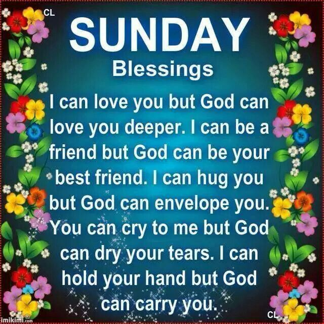 Sunday Morning Religious Quotes: Sundays Blessings Quotes. QuotesGram