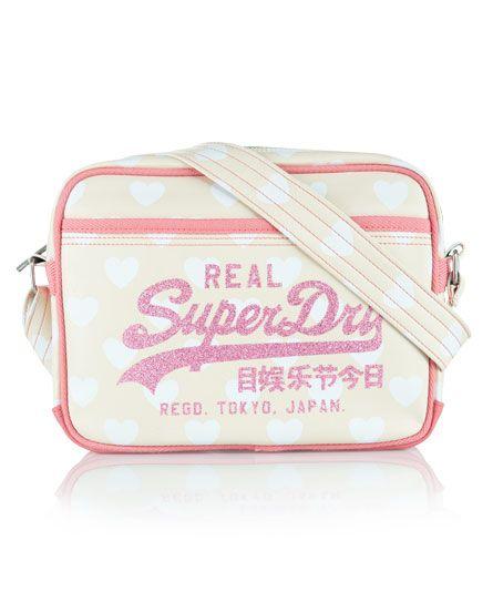 Superdry Heart Mini Alumni Bag