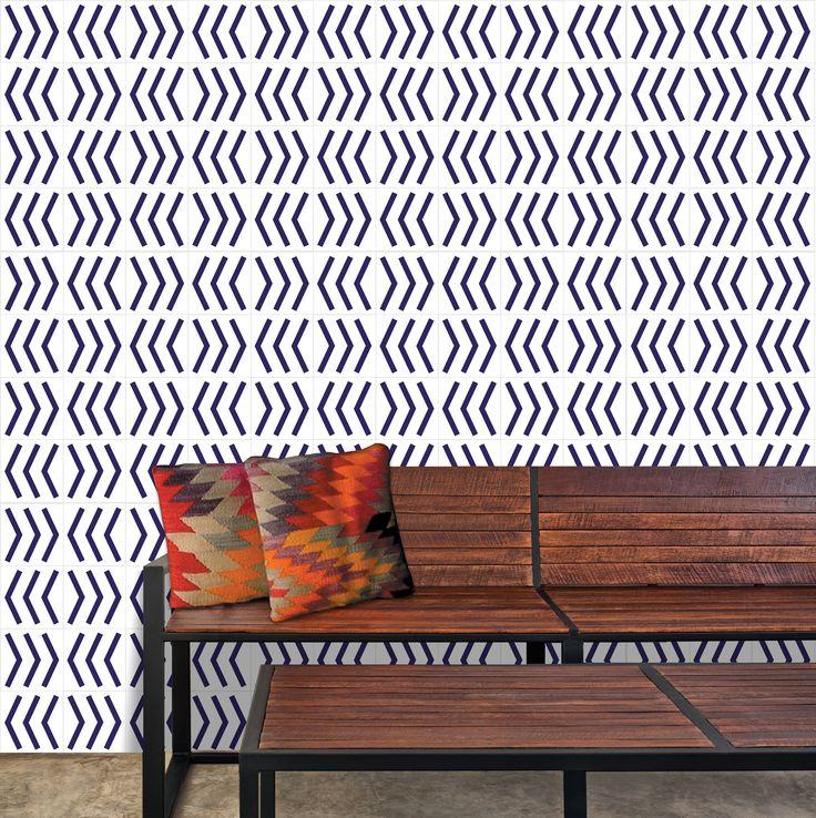 Lurca Azulejos - Coleção Modelo Luxor // Collection Luxor Ceramic Tiles // Shop Online www.lurca.com.br/ #azulejos #azulejosdecorados #revestimentos #arquitetura #interiores #decor #design #sala #reforma #decoracao #geometria #casa #ceramica #architecture #decoration #decorate #style #home #homedecor #tiles #ceramictiles #homemade
