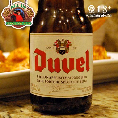 La birra belga più amata all' #English Pub All In. Vieni a provarla questa sera!
