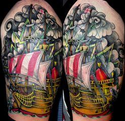 of Ace Custom Tattoo located in Charlotte, NC. Ace Custom Tattoo ...