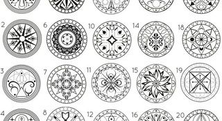 These 20 Mandalas hold the secret to your life; which one speaks to you the most?