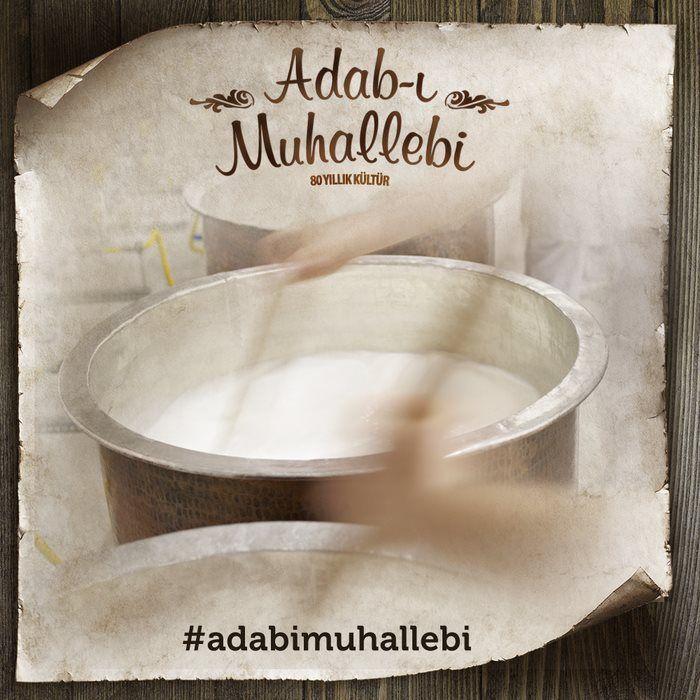 Adab-ı Muhallebi; bakır kazanlarda, el emeği ile hazırlanan kazandibidir.