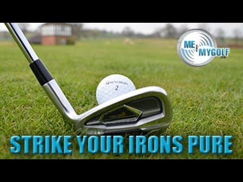 Golf - Stop Topping With This Simple Drill You Can Do At Home - YouTube