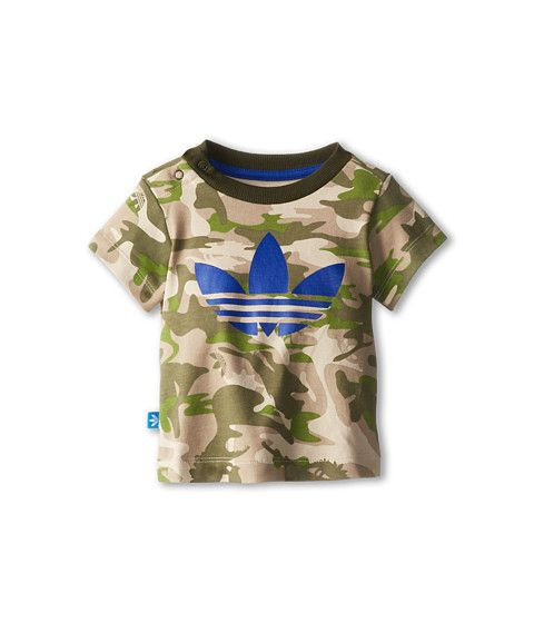 68625aba adidas Originals Kids Camo Tee (Infant/Toddler) | 《Abels board》 | Baby boy  outfits, Infant, Boy outfits