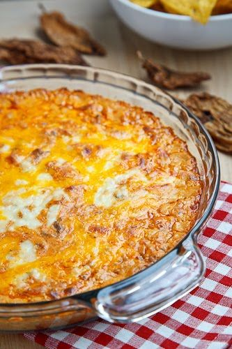Baked Taco Dip.  I really need to go ahead and make one of these recipies some day...