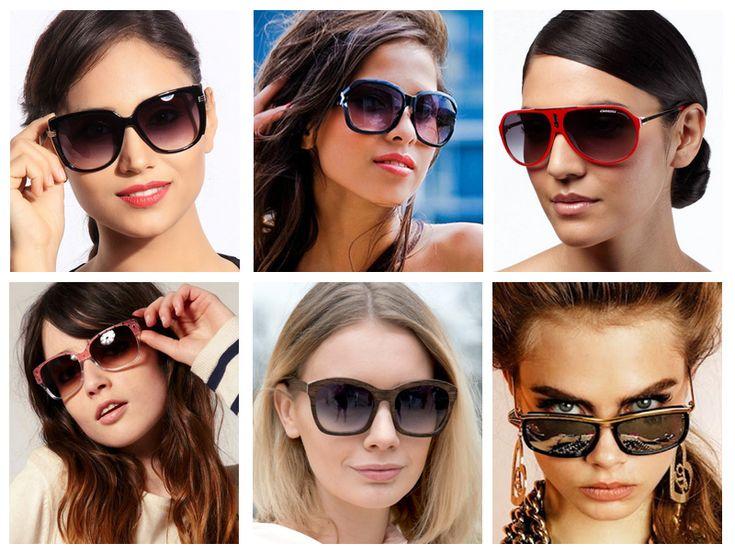 Квадратные солнцезащитные очки — фото