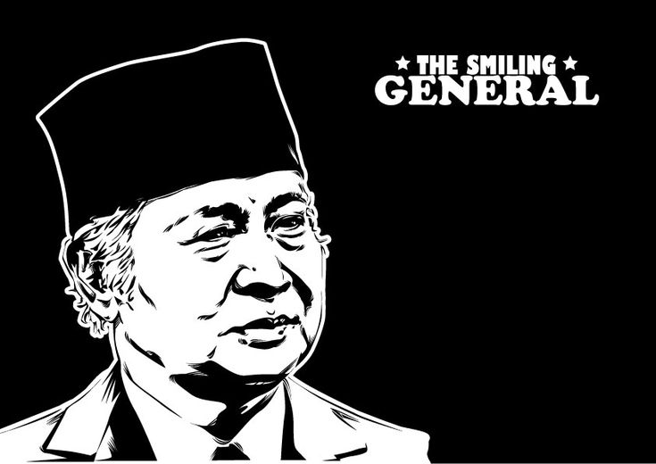 Soeharto - The Smiling General by astayoga.deviantart.com on @DeviantArt
