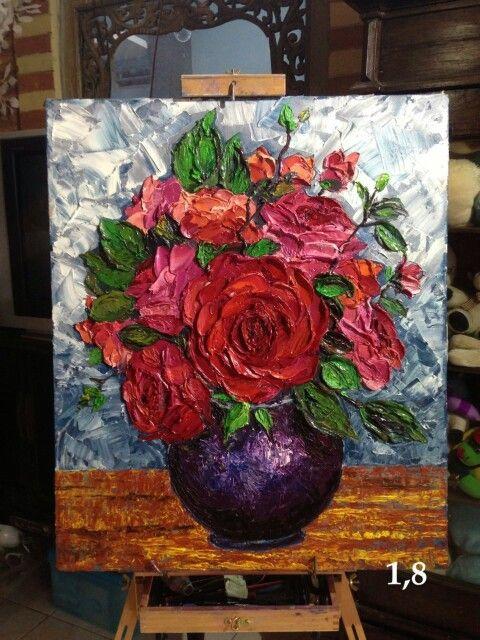 Dijual lukisan tangan  Minat hubungi 085786167167 7942EFC8 lokasi jakarta by nike