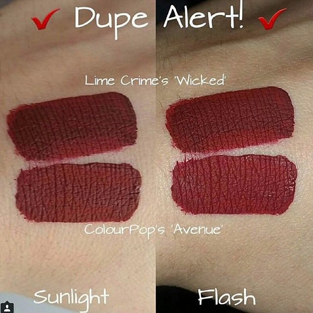 Lime Crime Wicked dupe