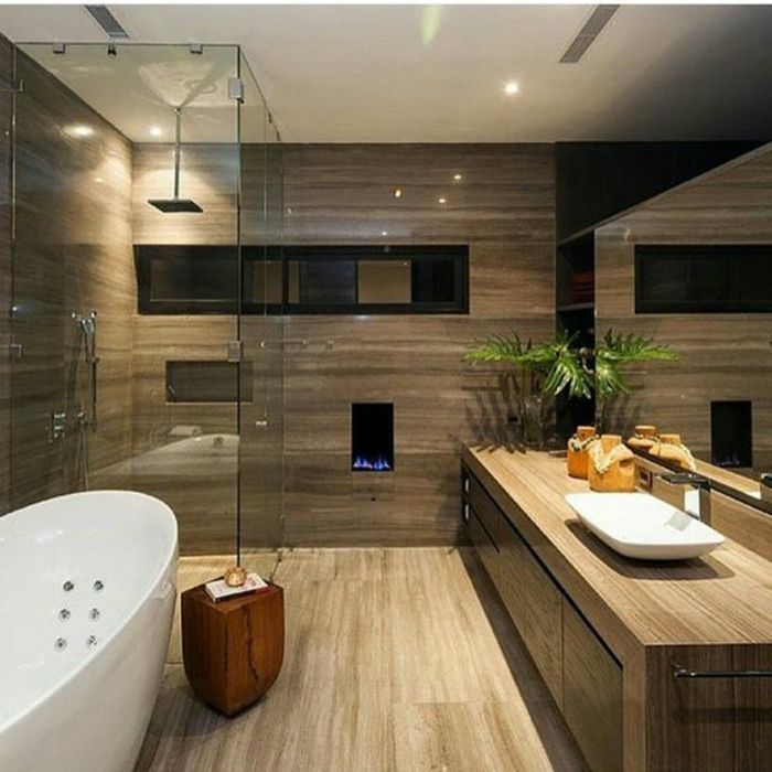 1198 best salle de bain images on pinterest - Salle de bain bois zen ...