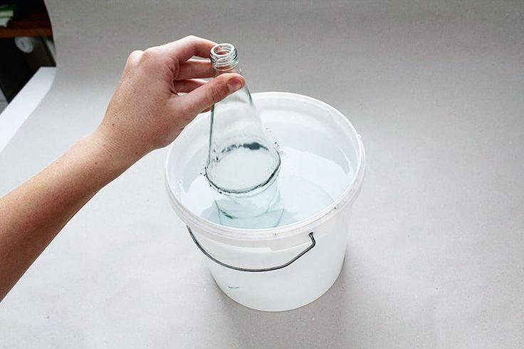 25 einzigartige glasflaschen schneiden ideen auf. Black Bedroom Furniture Sets. Home Design Ideas