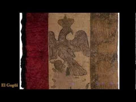 ▶ LA VERDADERA BANDERA MEXICANA / Simbolos Patrios de México--- MEXICAN FLAG AND SHIELD - YouTube