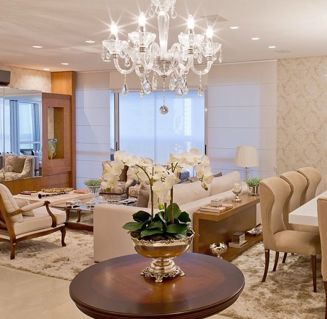 Salas integradas de modo perfeito
