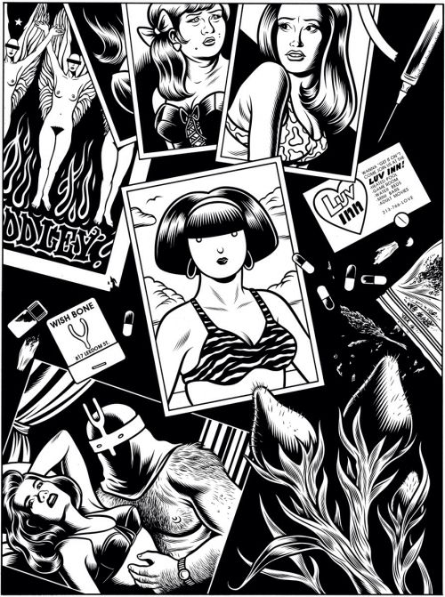 Panorama du roman graphique # 31: Charles Burns, 'Black Hole' (1995) - sergiobelluz
