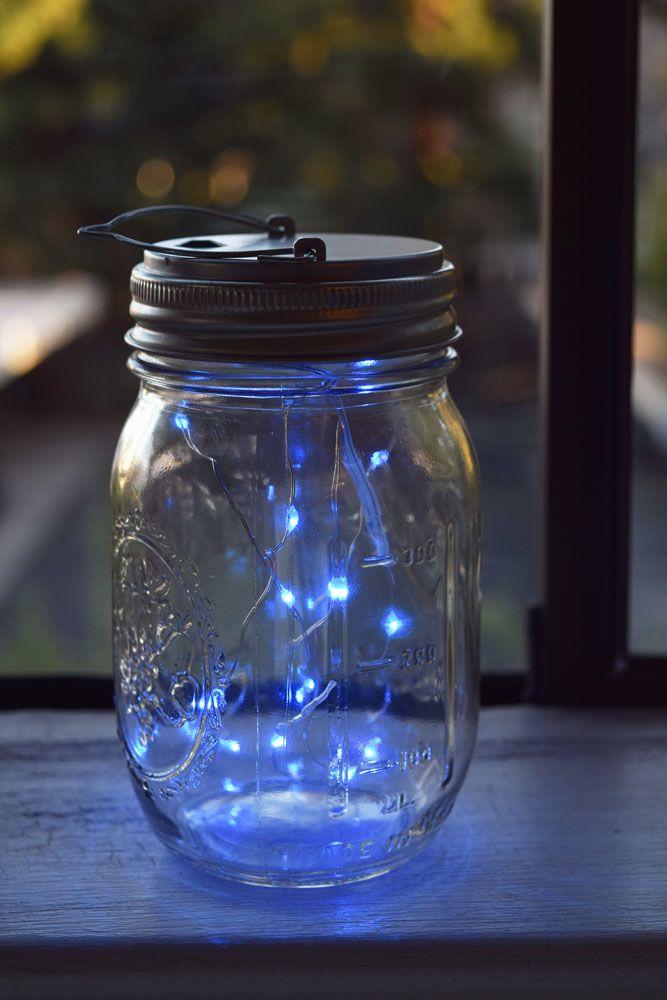 Moonbright Led Mason Jar Lights Battery Powered For