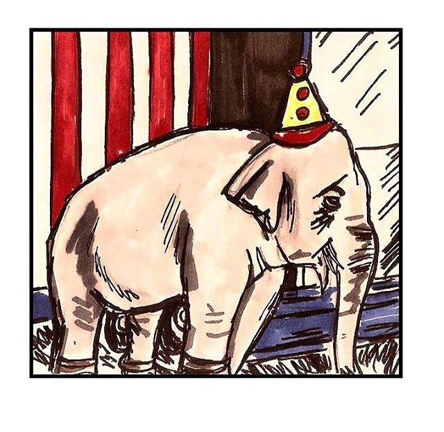 Ringling Bros. and Barnum & Bailey Circus —que es conocido por golpear a los elefantes con bullhooks (armas que se asemejan a los atizadores de chimeneas y tienen un gancho de metal afilado en la punta)— está en el primer lugar en la lista de PETA de los Ocho Peores Circos en E.E.U.U.