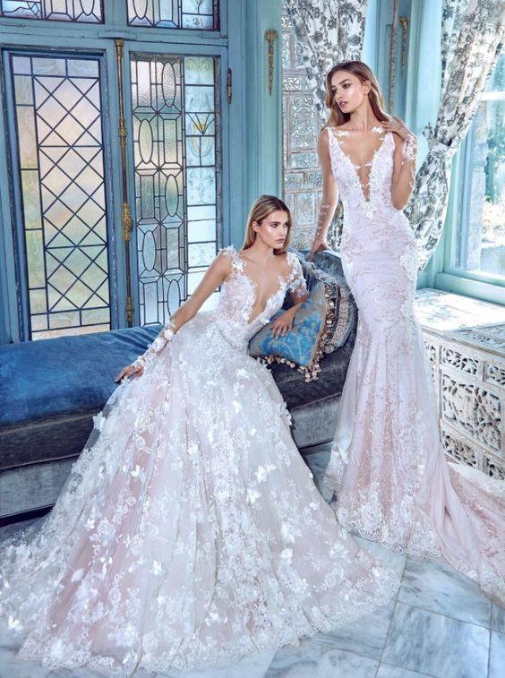 506 best wedding dresses images on Pinterest   Wedding frocks ...