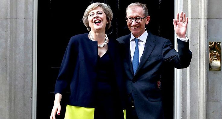 This Sexist Description Of Theresa May's Husband Is Perfect - http://www.buzzrushweb.com/general/this-sexist-description-of-theresa-mays-husband-is-perfect/