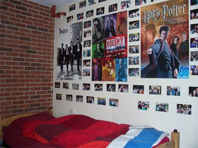 College Dorm Room Ideas And Tips. I Would Totally Do This, Except, It Would  All Be Harry Potter Stuff Instead. And PJO, HG, And All That Stuff Part 79