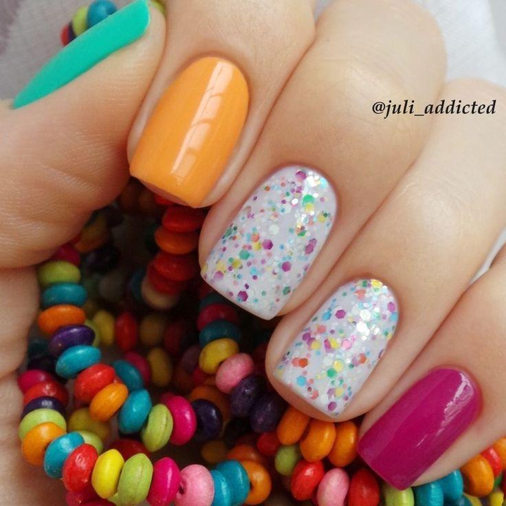 #28 nail art by Juli