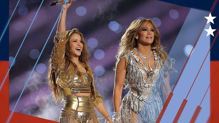 Media Playback Is Unsupported On Your Device Media Captionsuper Bowl 2020 Shakira J Lo Light Up Half Time Show In Miami Le Shakira Jennifer Lopez Super Bowl