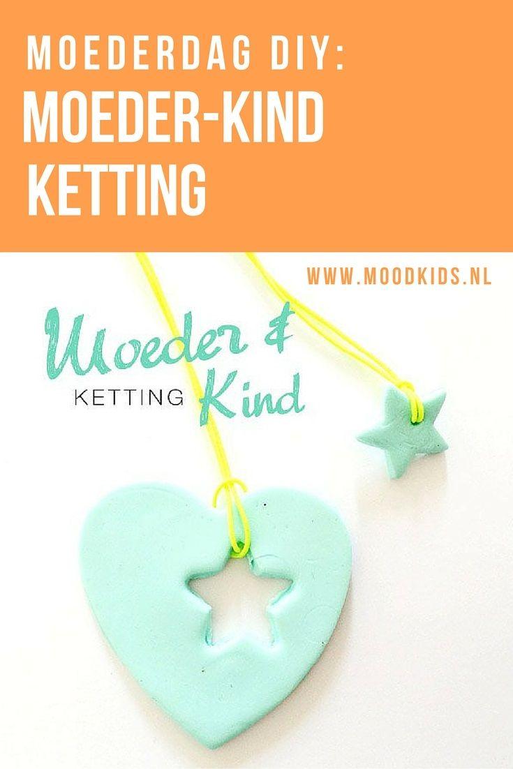 Moeder Dochter Ketting: stap voor stap omschrijving hoe je samen met papa of alleen zelf de ultieme moederdag ketting maakt voor mama.