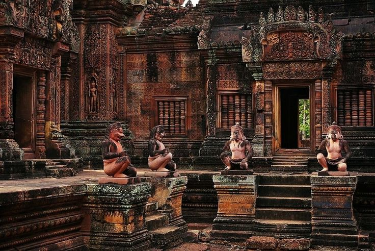 Inspiring Best Moments And Places To Take Pictures Of Angkor Temples also Banteay Srei In Cambodia | Goventures.org