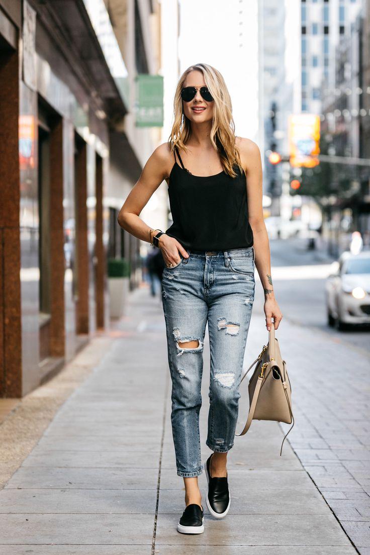 Fashion Jackson, Dallas Blogger, Fashion Blogger, Street Style, Club Monaco  Black Cami