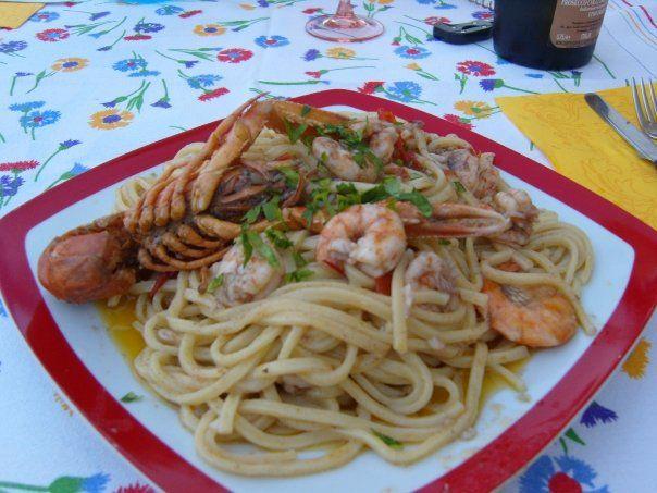 Troccoli foggiani con scampi e code di gamberi | Ricette di Cucina – Le ricette di cibook.it