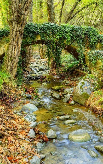Milia Venetian Bridge ~ Platres, Cyprus | Flickr - Photo by Christopher Stavrinides