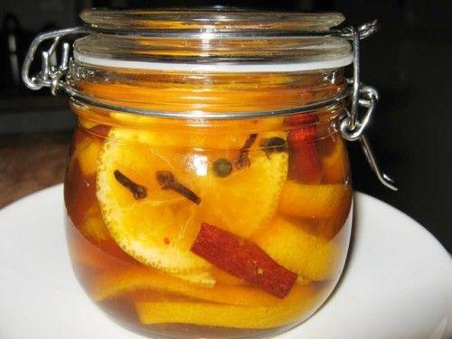 Fűszeres mandarinbefőtt