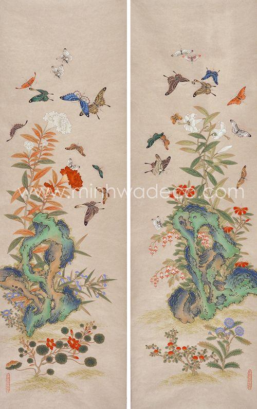 Traditional Korean art by contemporary artist Jin Myoung Kang