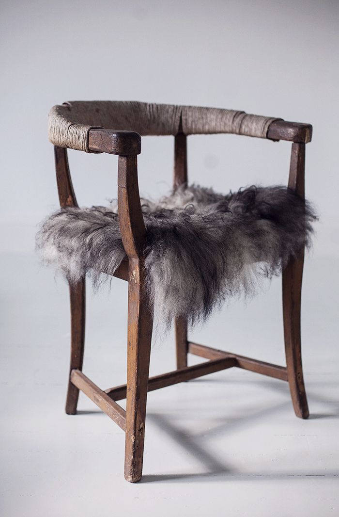 fur and animal skins used in rugs pillows blankets and so on they