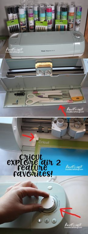 Cricut Explore Air 2: Getting Started and Excited! I just got a Cricut! There are so many things I love about it...and there are 2 things that aren't my favorite.