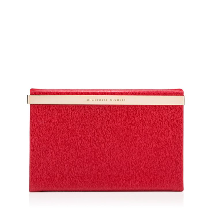 Give #GoodwillAndGoodShoes from Charlotte Olympia this holiday season with the Vanity Clutch