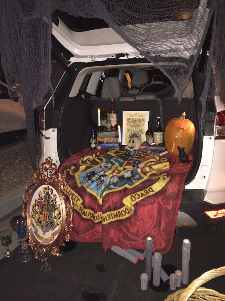 17 Best Harry Potter Trunk Or Treat Images On Pinterest