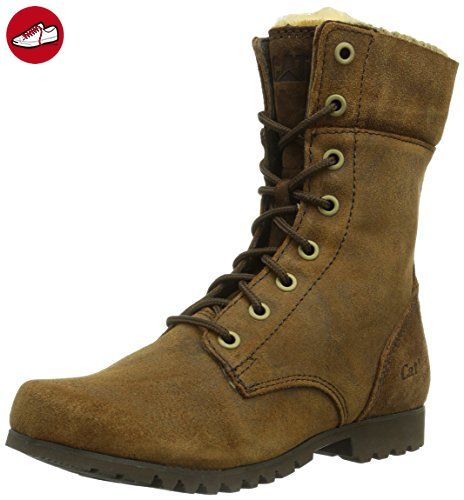 Caterpillar ALEXI, Damen Chukka Boots, Gelb (WOMENS DARK SNUFF), 37 EU (4 Damen UK) - Stiefel für frauen (*Partner-Link)