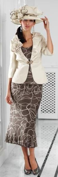 Gray & Osbourn, that the key to looking and feeling your best is to invest in a designer wedding outfit.  Brands such as Gina Bacconi, Frank Usher and Joseph Ribkoff all specialise in mother of the bride outfits and are beautifully cut to ensure you look and feel your very best.