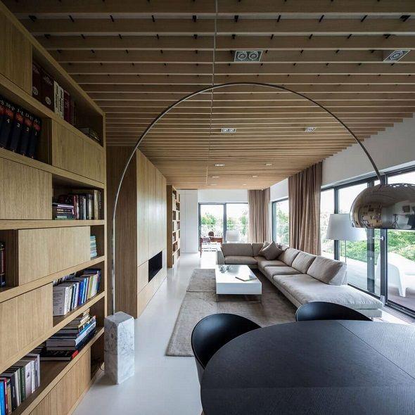 Fabulous apartment design with contemporary wooden interior design.... | Visit : roohome.com  #apartment #design #decoration #amazing #awesome #gorgeous #fabulous #unique #simple #creative #beautiful #interior