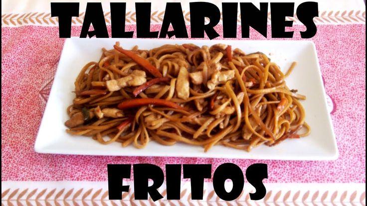 TALLARINES FRITOS (ESTILO CHINO) RECETA FÁCIL Y DELICIOSA