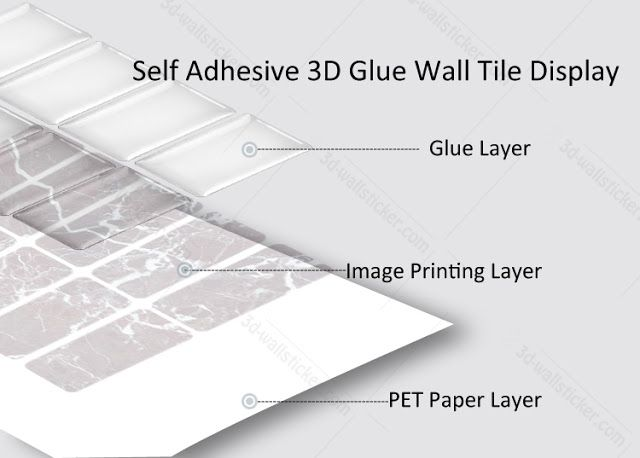 DIY your house with the self adhesive wall tile: Our self adhesive vinyl wall tiles display