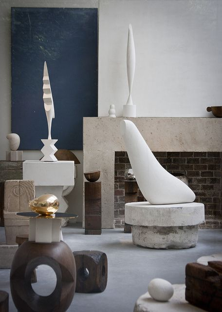 Shortly before his death, the Romanian sculptor Constantin Brancusi donated his studio and all of its contents to the French government on the condition that they reconstruct his studio as part of the Musée National d'Art Moderne. Honouring his wishes, his recreated studio, which includes various cast of his sculptures as well as tools, photographs and other objects, is on display at the Centre Georges Pompidou.
