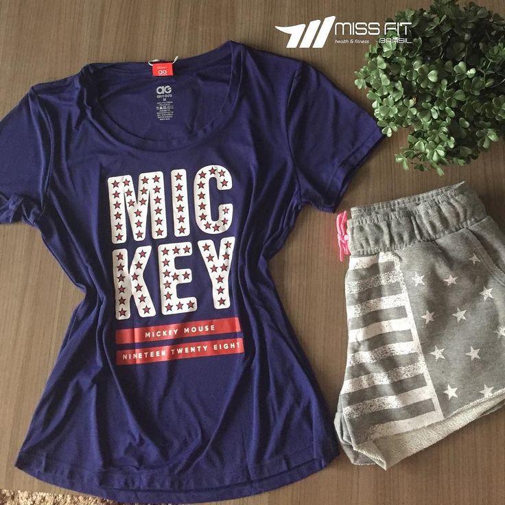 Linha Disney Alto Giro. T-shirt tecido leve e geladinho shorts moleton com cordão na cintura e bolsos laterais.  Últimas peças garanta a sua.  _____________________________________________________ Nossos canais de compra: .  http://ift.tt/1PcILpP Whatsapp: 41 99144-4587  Loja virtual no face: Acesse missfitbrasilhf  USA Store: www.fitzee.biz. .  Worldwide shipping  Parcele em até 4x sem juros via Pagseguro  10% off para pagamento via depósito ou transferência. .  Frete grátis para todo…