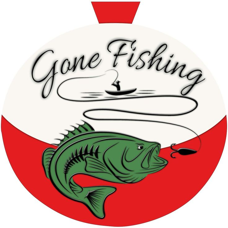 Gone Fishing Signs Decor: Front Doors, Doors And Wreaths